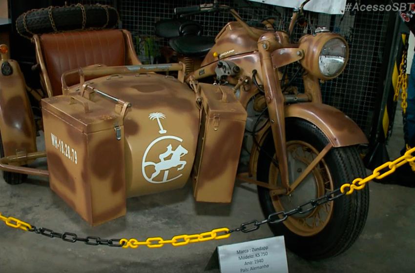 Encontro de motos antigas