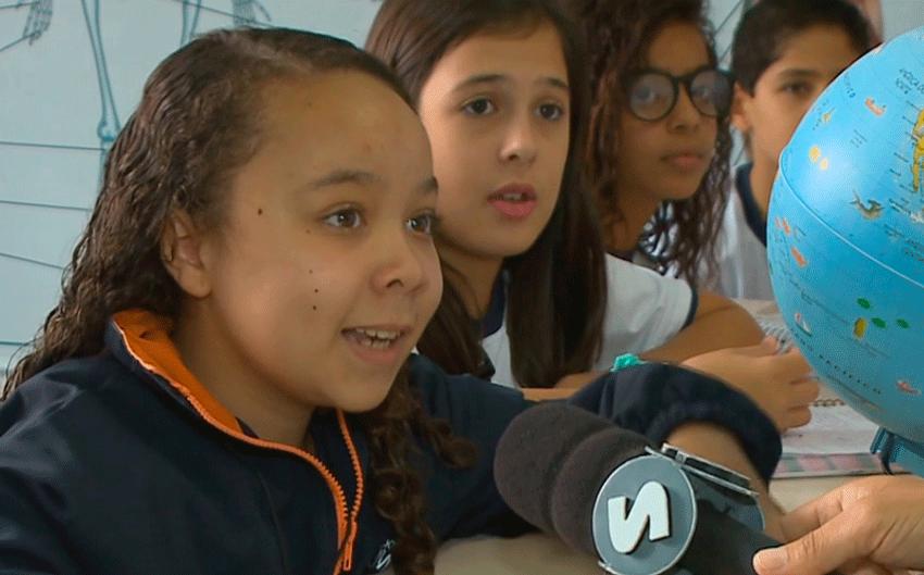 Escola de Sorocaba orienta alunos sobre o coronavírus