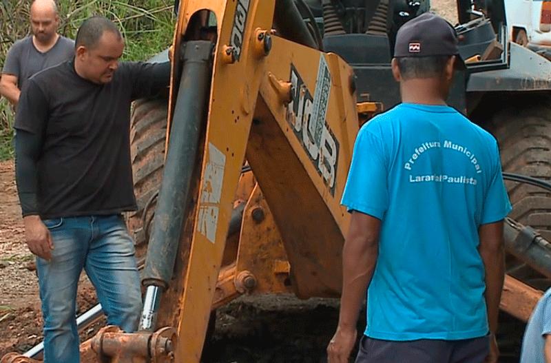 Laranjal Paulista tenta se recuperar depois de temporal