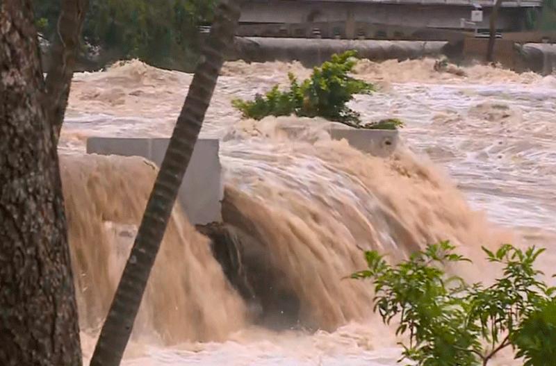 Nível do rio tietê continua subindo em Salto