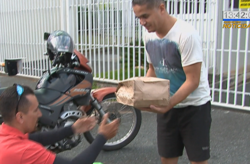 Comércios usam serviço de entrega na quarentena
