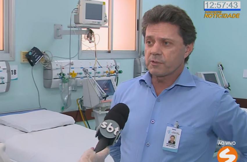 Santa Casa de Sorocaba prepara nova ala para pacientes com covid-19.