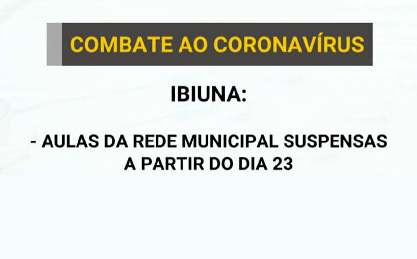 Cidades da região anunciam mudanças por conta do Coronavírus