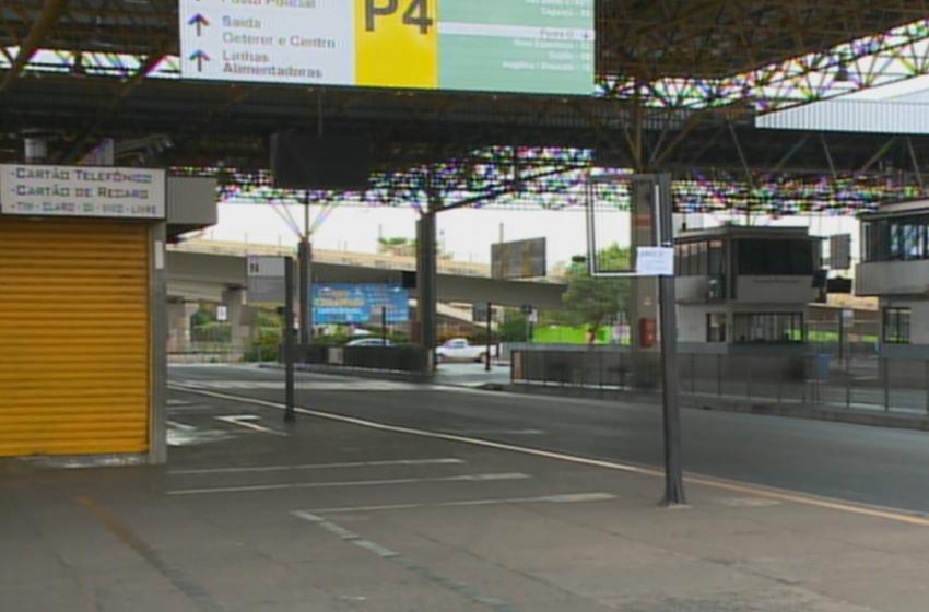 Mesmo com determinação da Justiça, Sorocaba segue semtransporte coletivo.