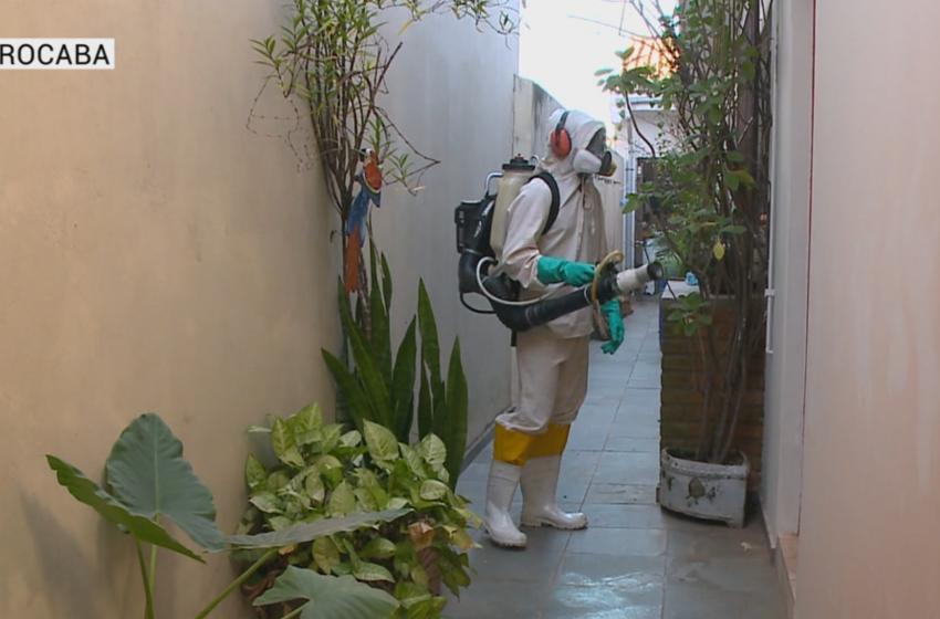 Fiscalização contra a dengue prossegue em Sorocaba.