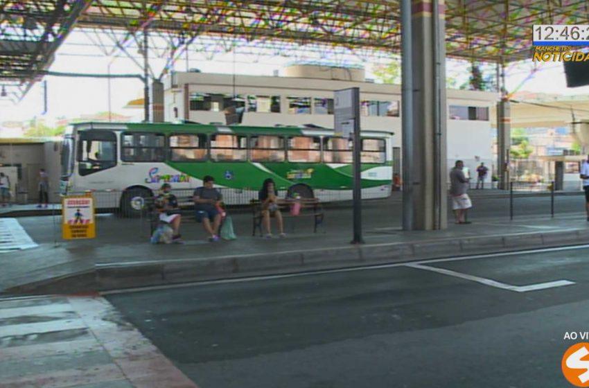 Ônibus voltam a circular em Sorocaba.