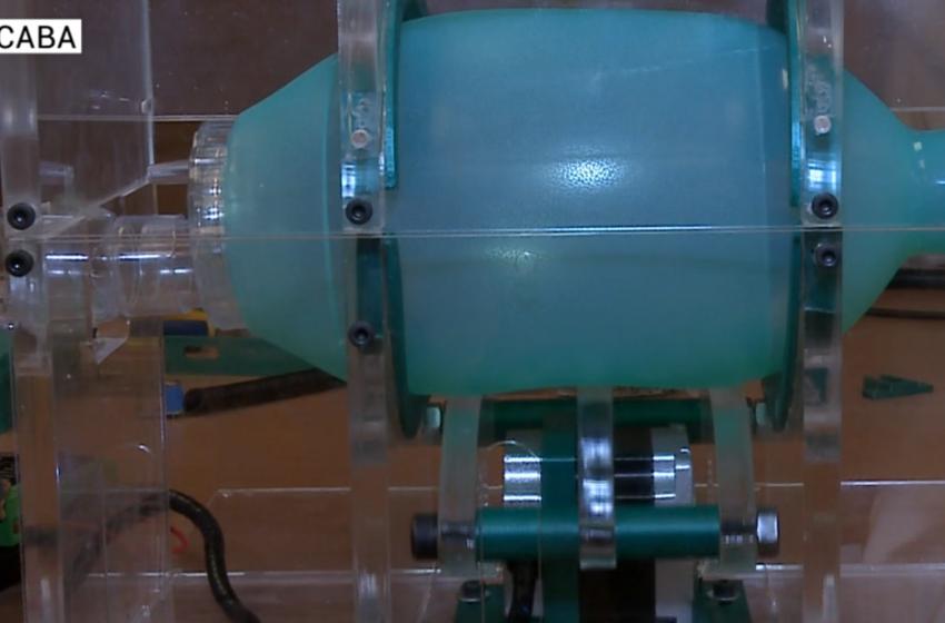 Empresa de Sorocaba produz aparelho para ajudar no combate ao covid-19.