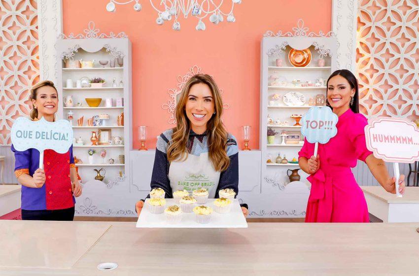 "Patricia Abravanel ensina receita de família no ""Bake Off Brasil – ACerejadoBolo"""