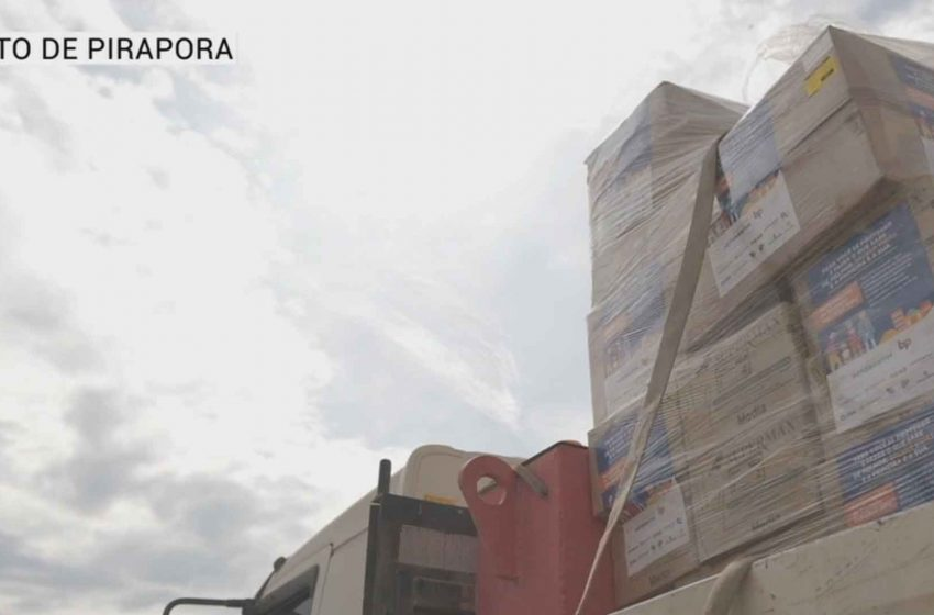 Salto de Pirapora recebe 100 mil unidades de EPI's.